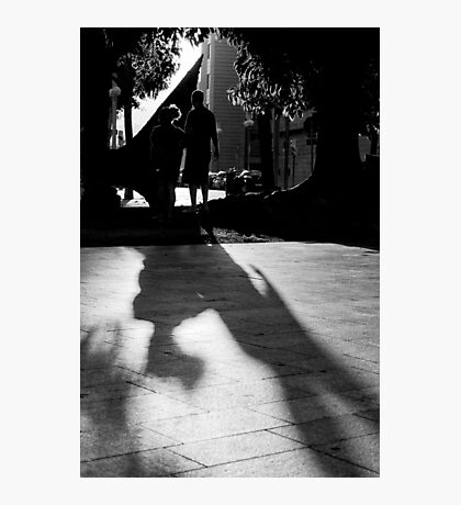 Silouhettes and shadows Photographic Print