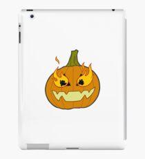 halloween jack-o-lantern iPad Case/Skin