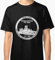 Escape From New York White Classic T-Shirt