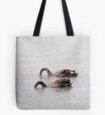 Swan Vista Tote Bag