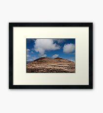 Volcanic landscape 3 Framed Print