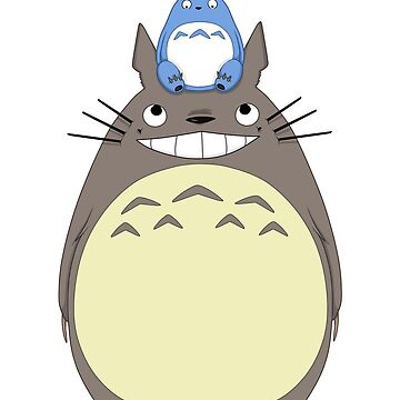 Totoro and friends by Niutellat