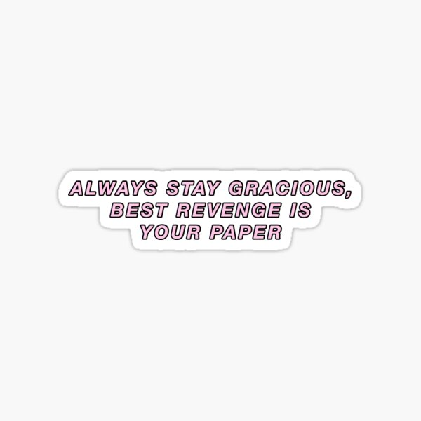 Beyonce Formation Quote Sticker