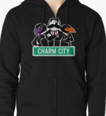 Charm City Gang Zipped Hoodie