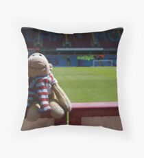 The world's smallest biggest Burnley Fan! Throw Pillow