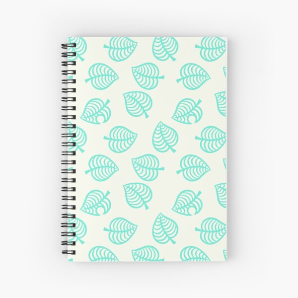 Tom Nook Animal Crossing Aloha repeating pattern Spiral Notebook