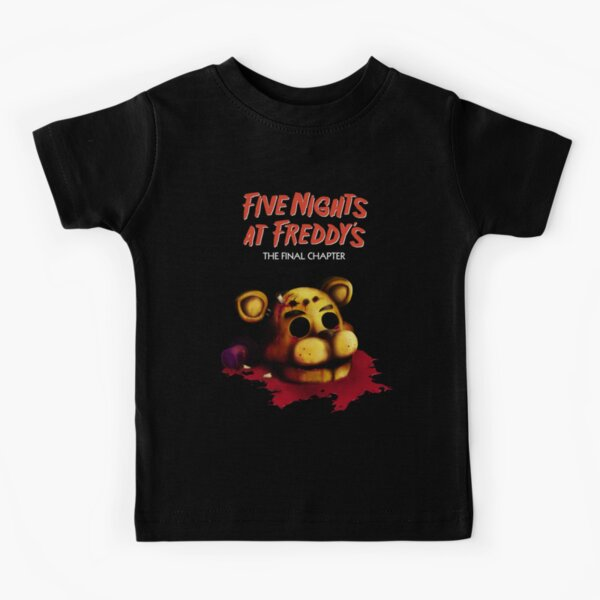 Five Nights at Freddy's The Final Chapter - FNAF 4 Kids T-Shirt