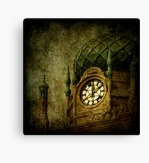 Damaged Charisma Canvas Print