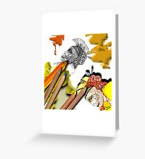 Sketchpad: pages from the ages Paint version! Greeting Card
