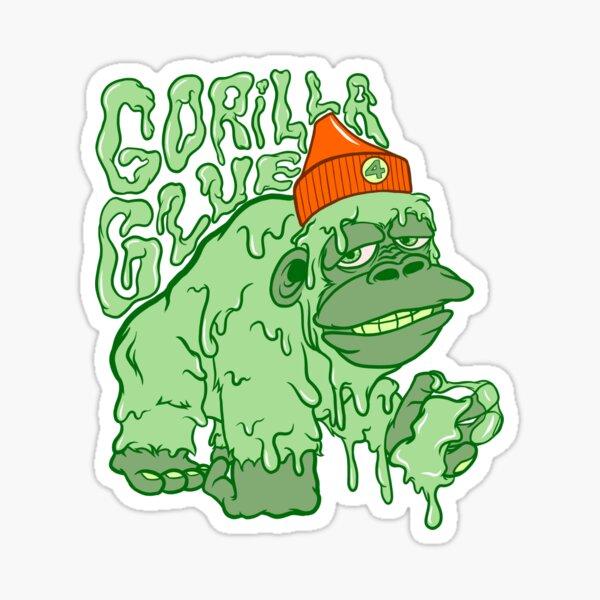 Gorilla Kleber Sticker