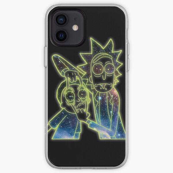 Rick and Morty - Look of Space Graphic iPhone Soft Case