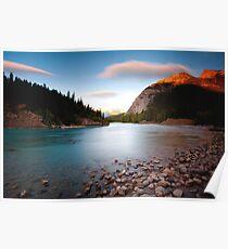 Banff, Alberta Canada - Bow River  Poster