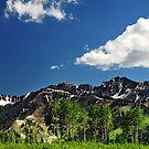 Wasatch Mountains, Big Cottonwood Canyon by Ryan Houston