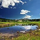 Willow Heights Lake, Utah by Ryan Houston