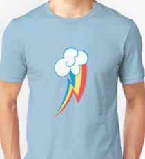 Rainbow Dash Cutie Mark (Medium icon) - My Little Pony Friendship is Magic Unisex T-Shirt