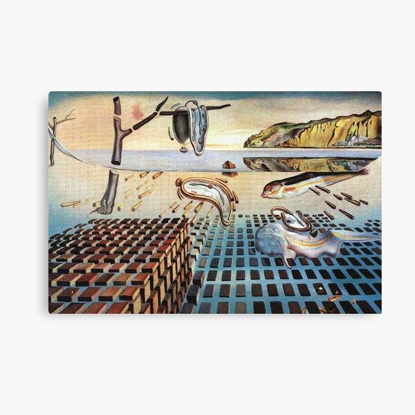 Salvador Dali   La desintegración de la persistencia de la memoria Lienzo