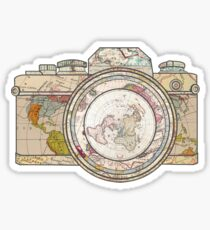 world camera Sticker