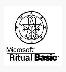 Ritual Basic Photographic Print