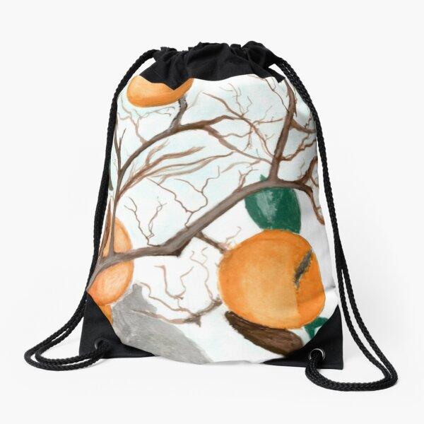 Oranges  Drawstring Bag