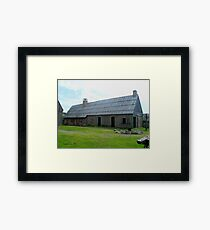 Forge at Ste. Marie Among the Iroquois Framed Print