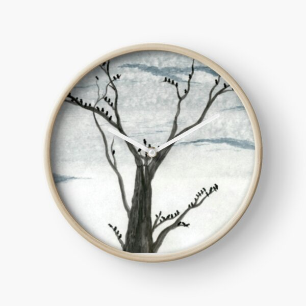 Blackbird Forest   Clock