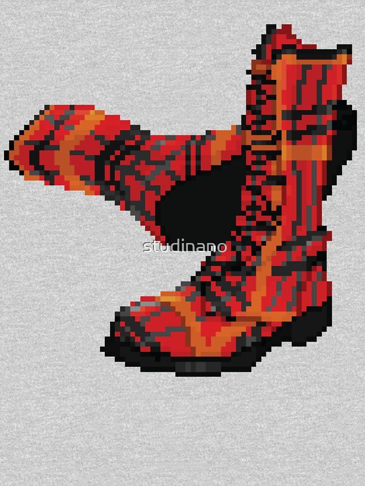 Rock Shoes - Pixel art by studinano