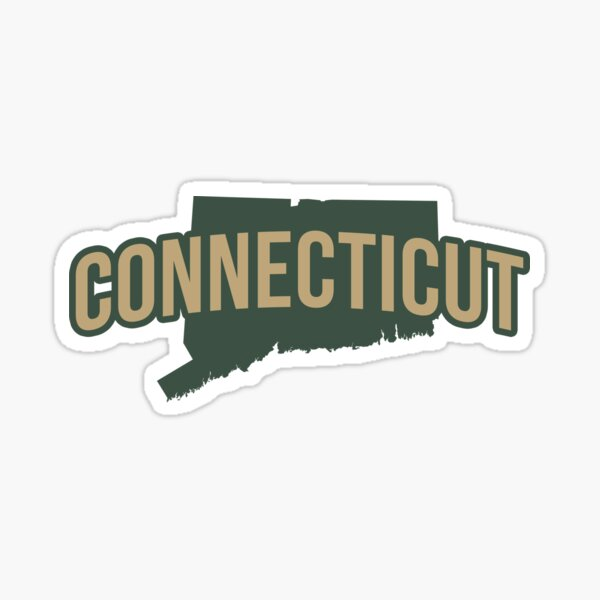 Connecticut State Sticker