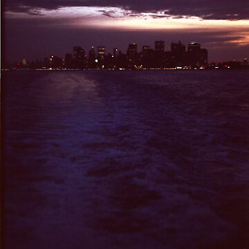 New York City from the Staten Island Ferry by joshwedlake