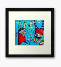 Mumbo Jumbo Framed Print
