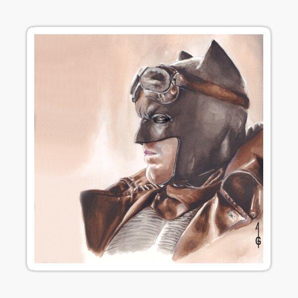 Dark vigilante Sticker