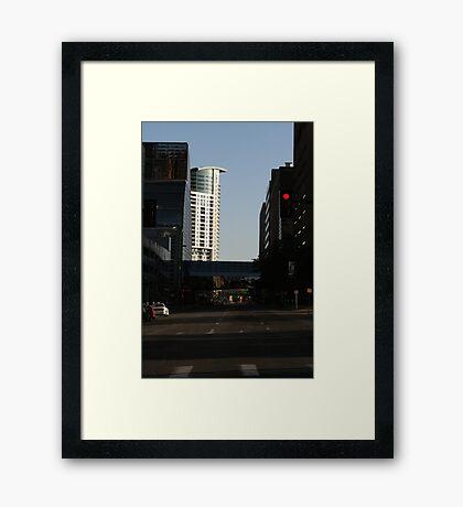 Good Morning Denver Framed Print