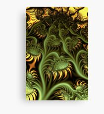 Sunflowers in UltraFractal Canvas Print