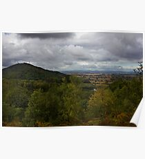 The Wrekin Viewed From The Ercall Poster