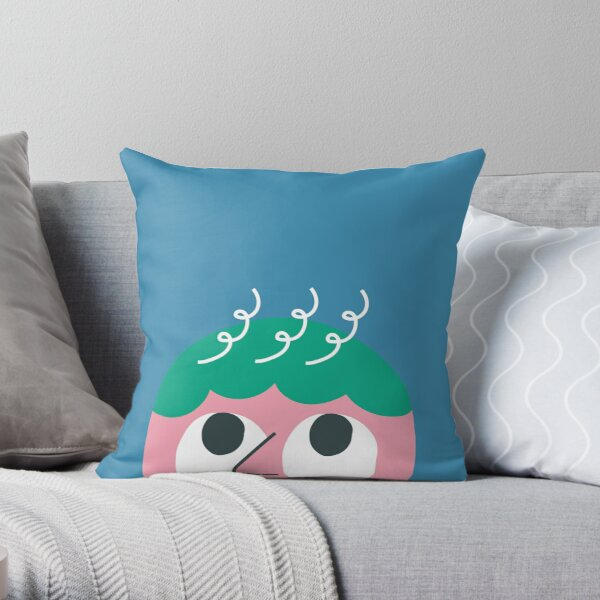Thinking room Throw Pillow