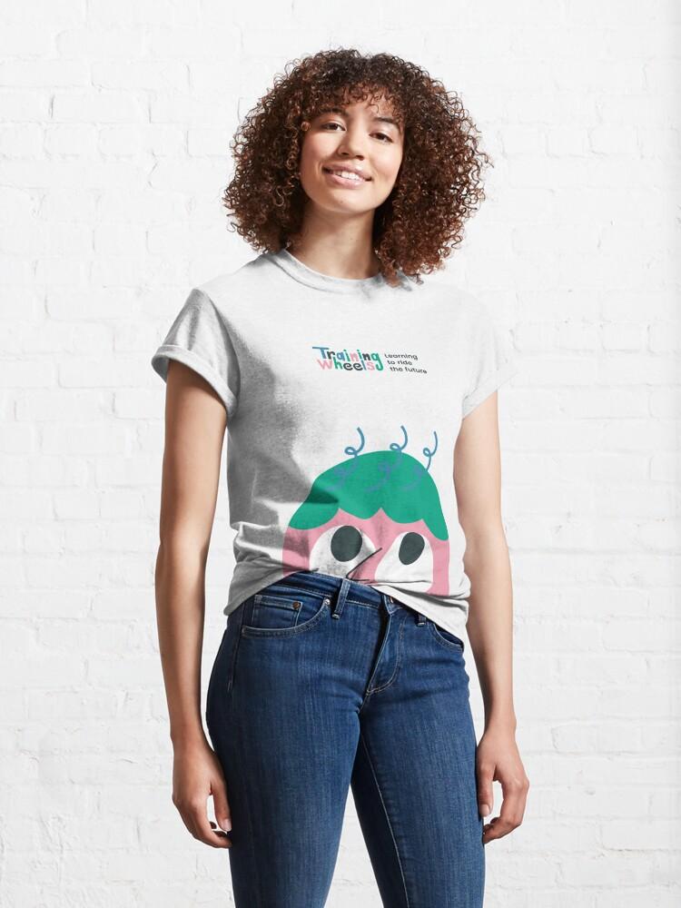 Vista alternativa de Camiseta clásica Sala de pensar
