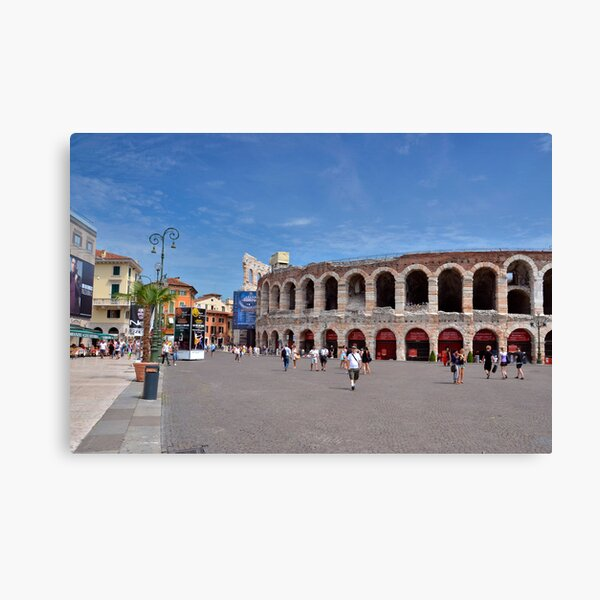 Arena di Verona Canvas Print