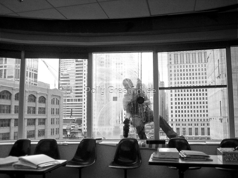 Window Washer by Polly Greathouse
