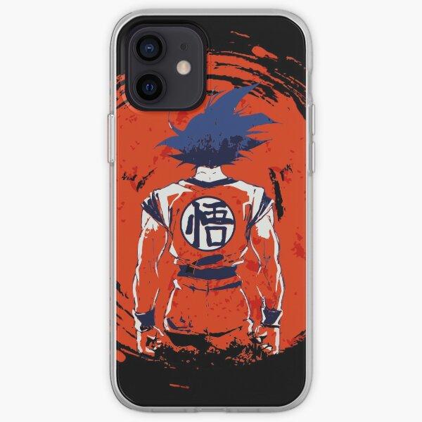 Japón Saiyan Funda blanda para iPhone