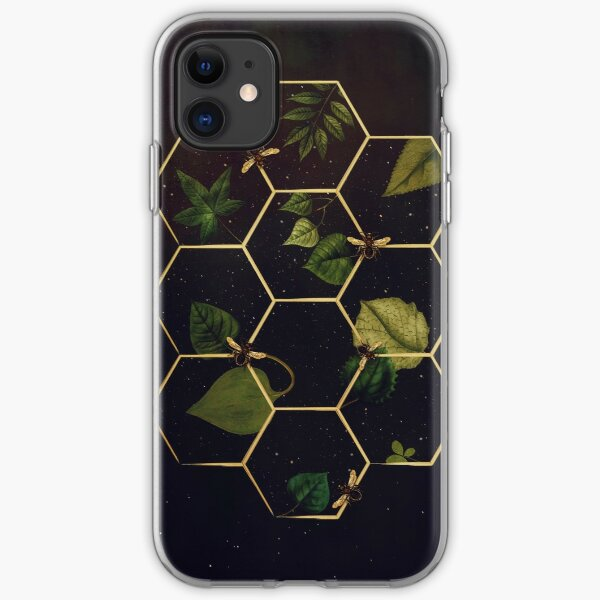 Bees in Space  iPhone Soft Case