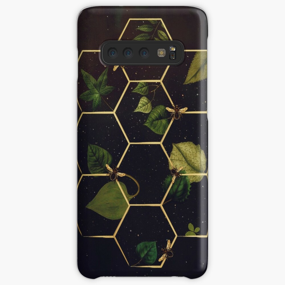 Bees in Space  Case & Skin for Samsung Galaxy