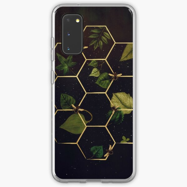 Bees in Space  Samsung Galaxy Soft Case