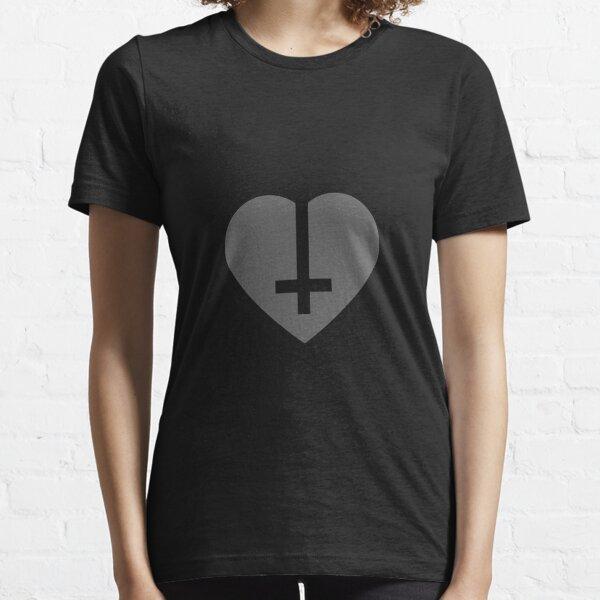 Cross heart Essential T-Shirt