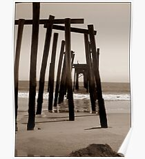 Pier in Sepa Poster