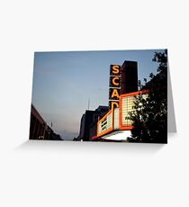 SCAD Theater  Greeting Card