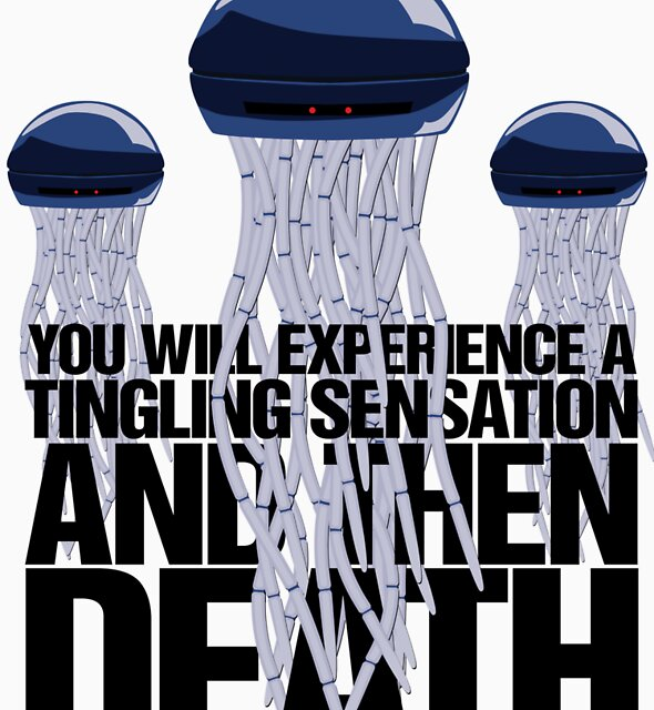You will experience a tingling sensation and then death by renduh