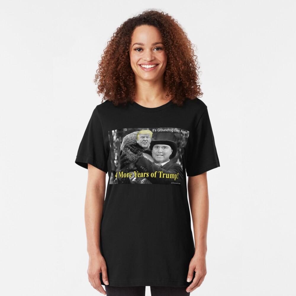 Trumpxsutawney Phil Slim Fit T-Shirt