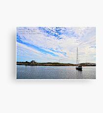 Prospect Bay, Nova Scotia Canvas Print