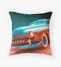 Blacktop Vampire Throw Pillow