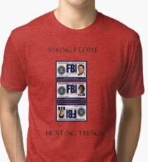 Supernatural Badge Tri-blend T-Shirt