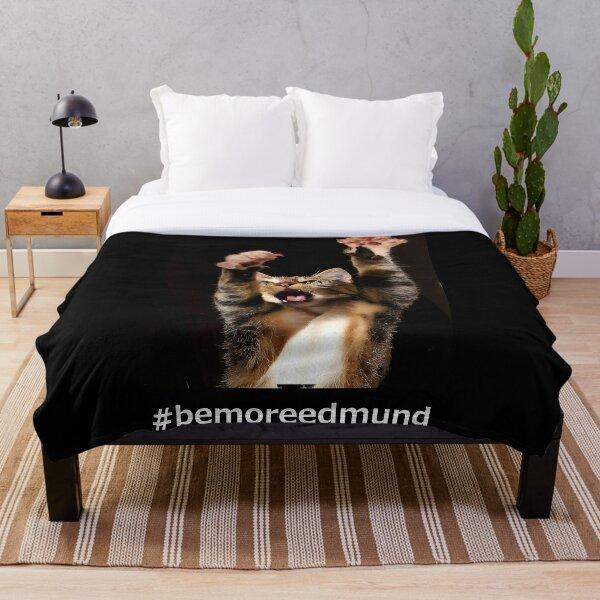 #bemoreedmund Throw Blanket